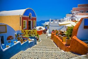 Santorini pebble path 560 - Santorini Voted Best Island in Europe for the 5th Consecutive Year!