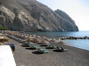 perissa santorini slide01 - Finest Beaches & Bars in Santorini!