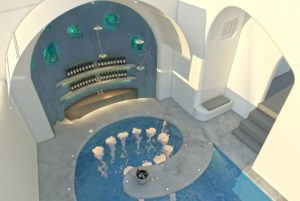 athina ROOM3 rev13 pool bar impression - Santorini's Athina Luxury Suites Ready to Open its Doors After Renovation