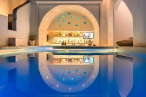 IMG 3025 - Our Brand New Heated Pool - at Athina Luxury Suites
