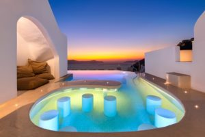 IMG 3026 - Our Brand New Heated Pool - at Athina Luxury Suites