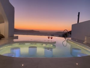 IMG 3033 - Our Brand New Heated Pool - at Athina Luxury Suites