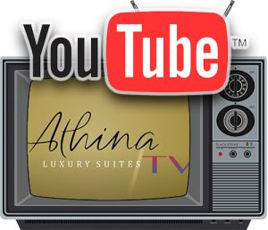 Athina Luxury Suites Youtube channel
