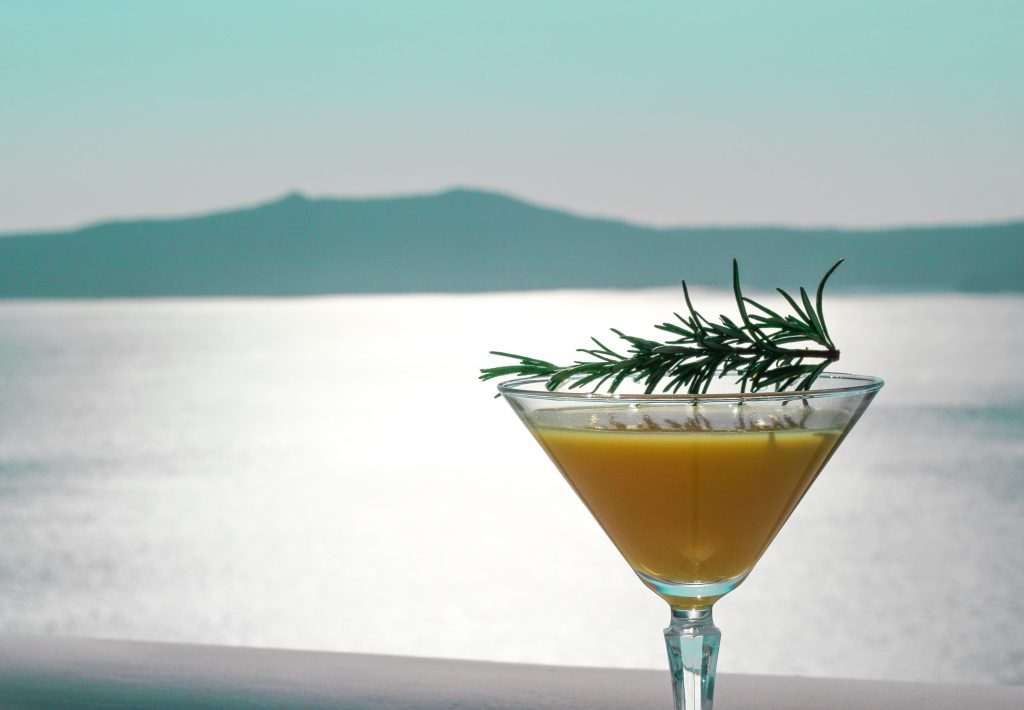 Herbs cocktails